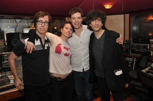 SUPERGROUP RECORDS EIGHT TRACKS IN EIGHT HOURS, RELEASES ALBUM TEN HOURS LATER