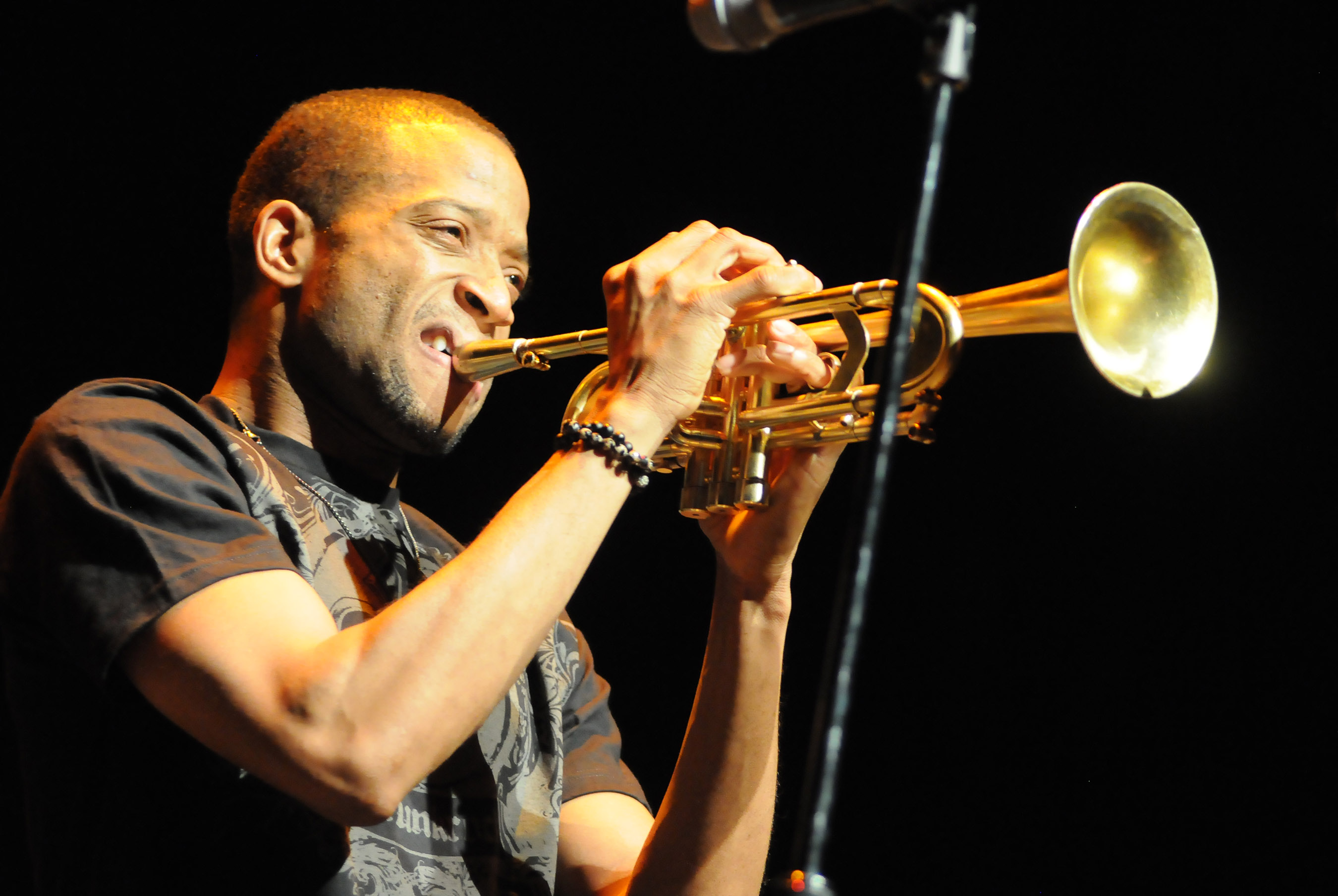 FUNKY TROMBONE SHORTY HORNS IN ON KIRBY CENTER