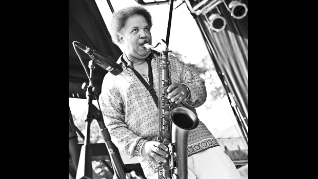 SAXMAN HOLLOWAY ON SITTING IN WITH THE STARS