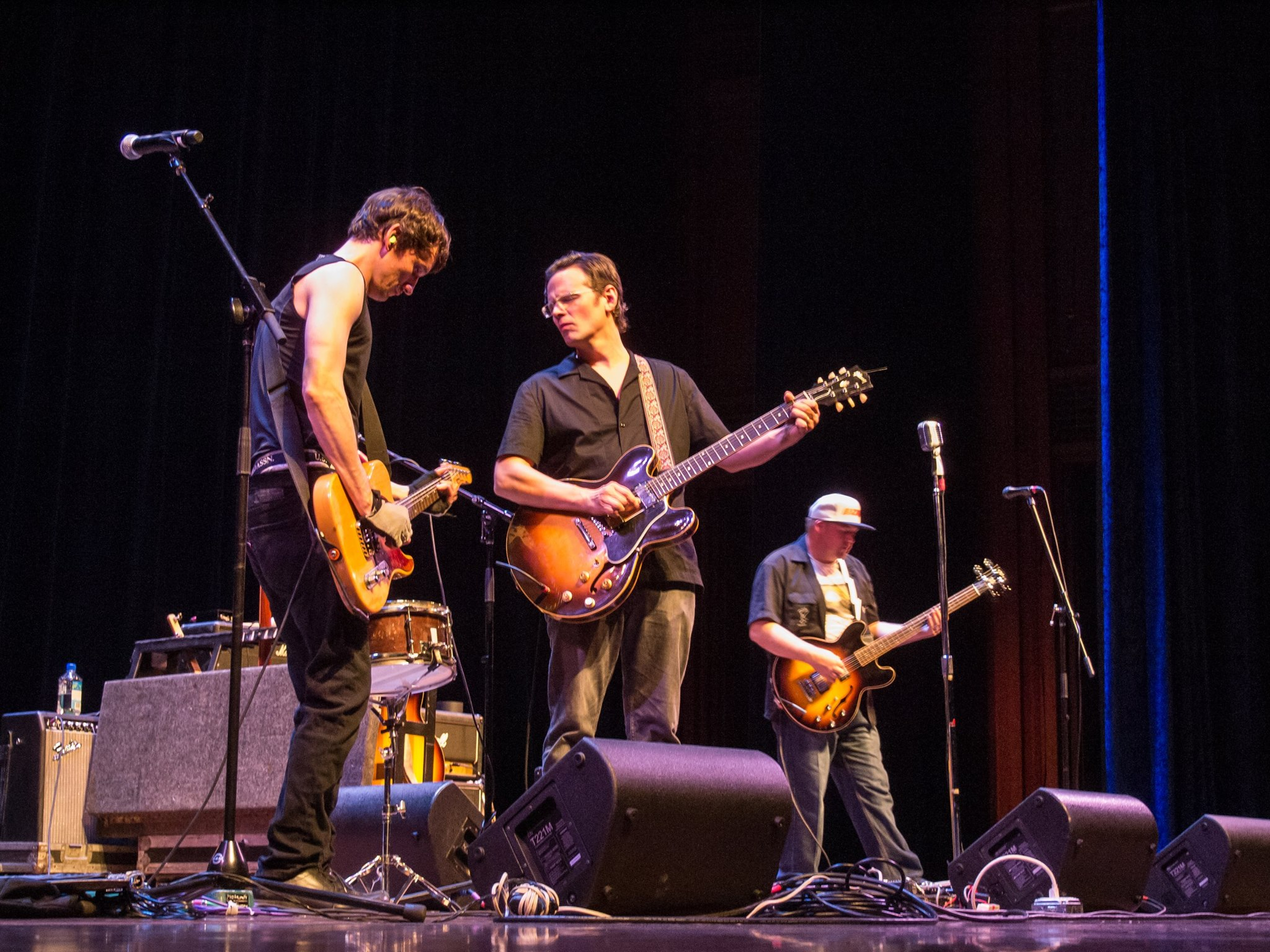 NORTH MISSISSIPPI ALLSTARS THRILL BUCKNELL UNIVERSITY CROWD