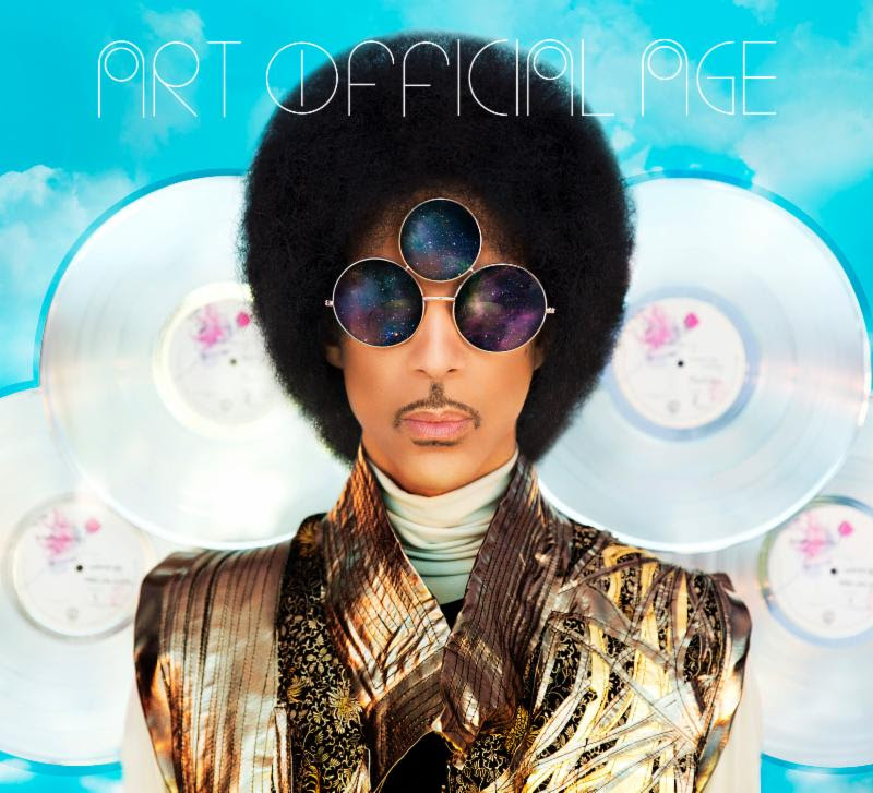 PRINCE'S ZANY and CAPTIVATING RETURN WITH 'ART OFFICIAL AGE'