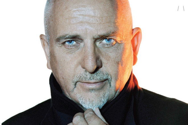 PETER GABRIEL DEBUTS NEW SONG IN ITALY
