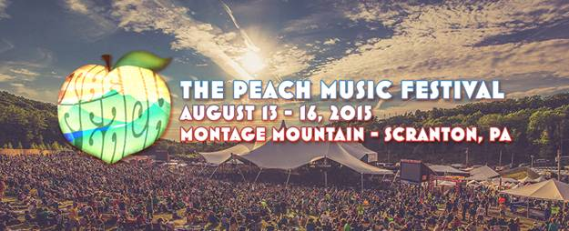 PEACH FESTIVAL RETURNS AUGUST 13-16, 2015