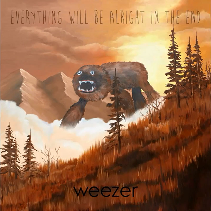 WEEZER GOES BACK — AND FORWARD — ON 'EVERYTHING WILL BE ALRIGHT IN THE END'