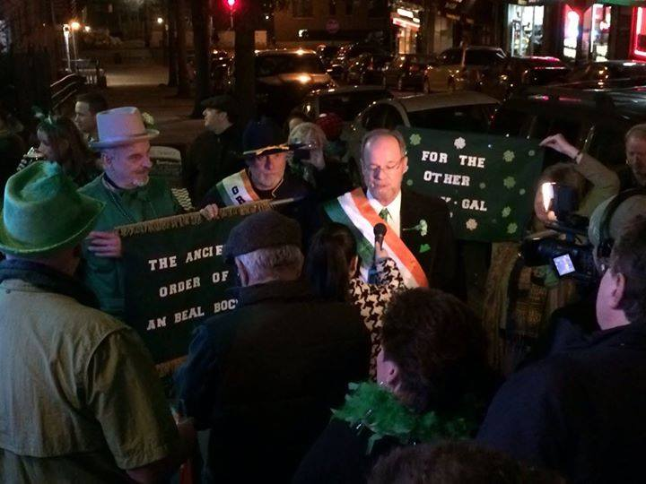 BRONX BAR BOASTS 'WORLD'S SHORTEST ST. PATRICK'S DAY PARADE'