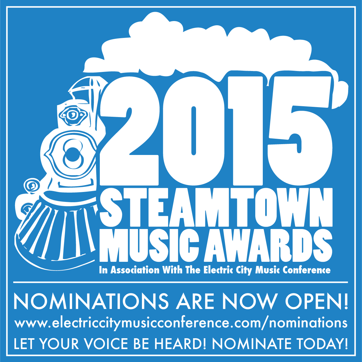 STEAMTOWN MUSIC AWARDS 2015 OPENS NOMINATIONS