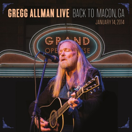 GREGG ALLMAN TO RELEASE LIVE ALBUM & DVD, HOST FIRST LAID BACK FESTIVAL AT JONES BEACH