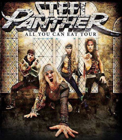 STEEL PANTHER: COCAINE, STRIPPERS, SPANDEX and A LITTLE MUSIC