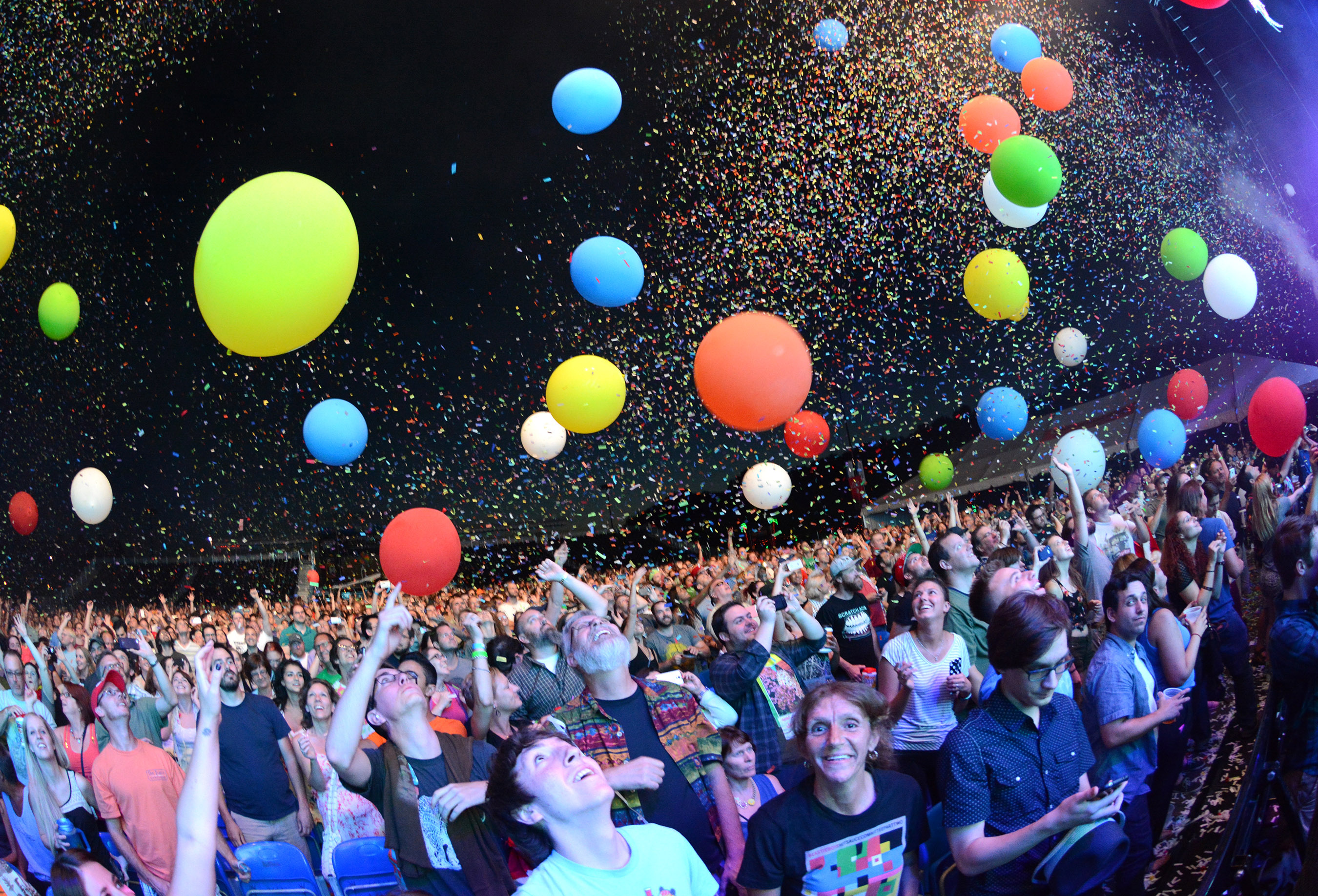 FLAMING LIPS AT MUSIKFEST