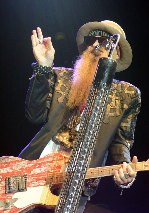 ZZ TOP AT MUSIKFEST