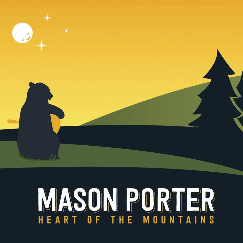 MASON PORTER ENJOYS A WEEKEND IN THE WOODS WITH 'HEART OF THE MOUNTAINS'