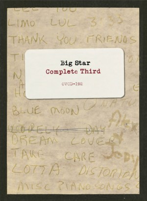 BIG STAR TO RELEASE SPRAWLING 'COMPLETE THIRD' OCT. 14