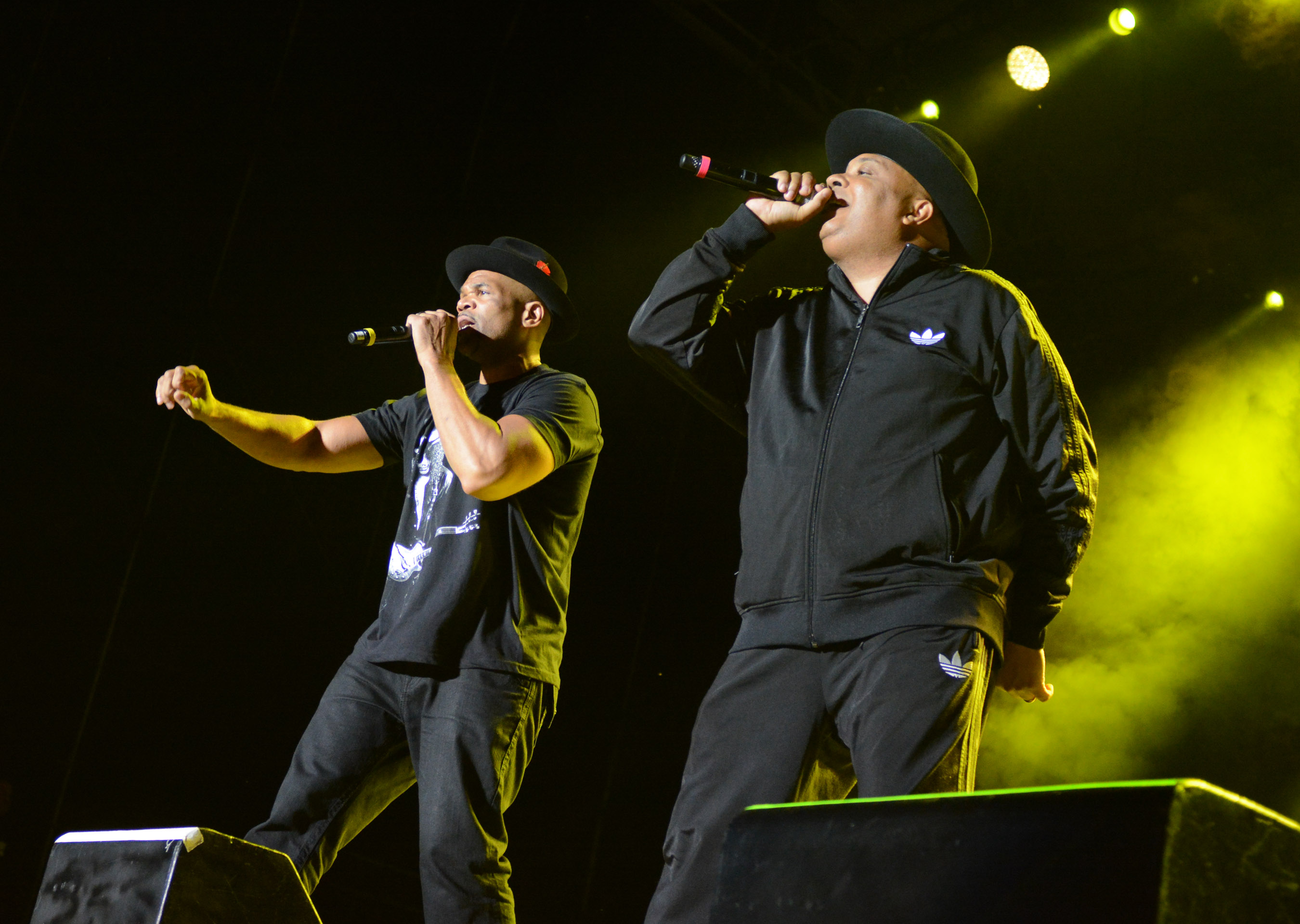 HIP-HOP LEGENDS RUN-DMC BRING BRIEF HEADLINING SHOW TO MUSIKFEST (PHOTOS)