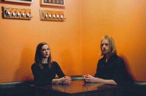 JOSIENNE CLARKE & BEN WALKER PLAY ROCKWOOD, TIN ANGEL IN ADVANCE OF ROUGH TRADE DEBUT
