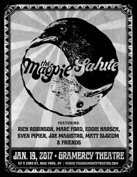 THE MAGPIE SALUTE REUNITES BLACK CROWES MEMBERS, FIRST SHOW SET FOR GRAMERCY THEATRE IN JANUARY