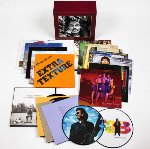 GEORGE HARRISON COMPLETE VINYL COLLECTION COMING