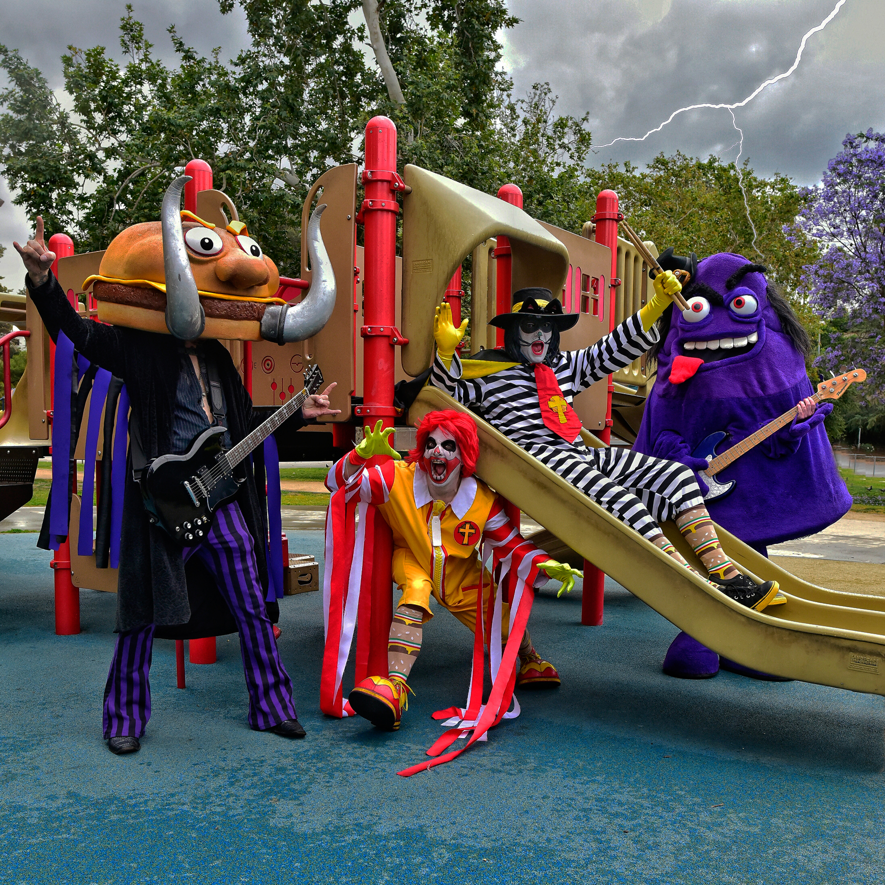 MAC SABBATH ARE THE UNDISPUTED CHAMPIONS OF 'DRIVE-THRU' METAL