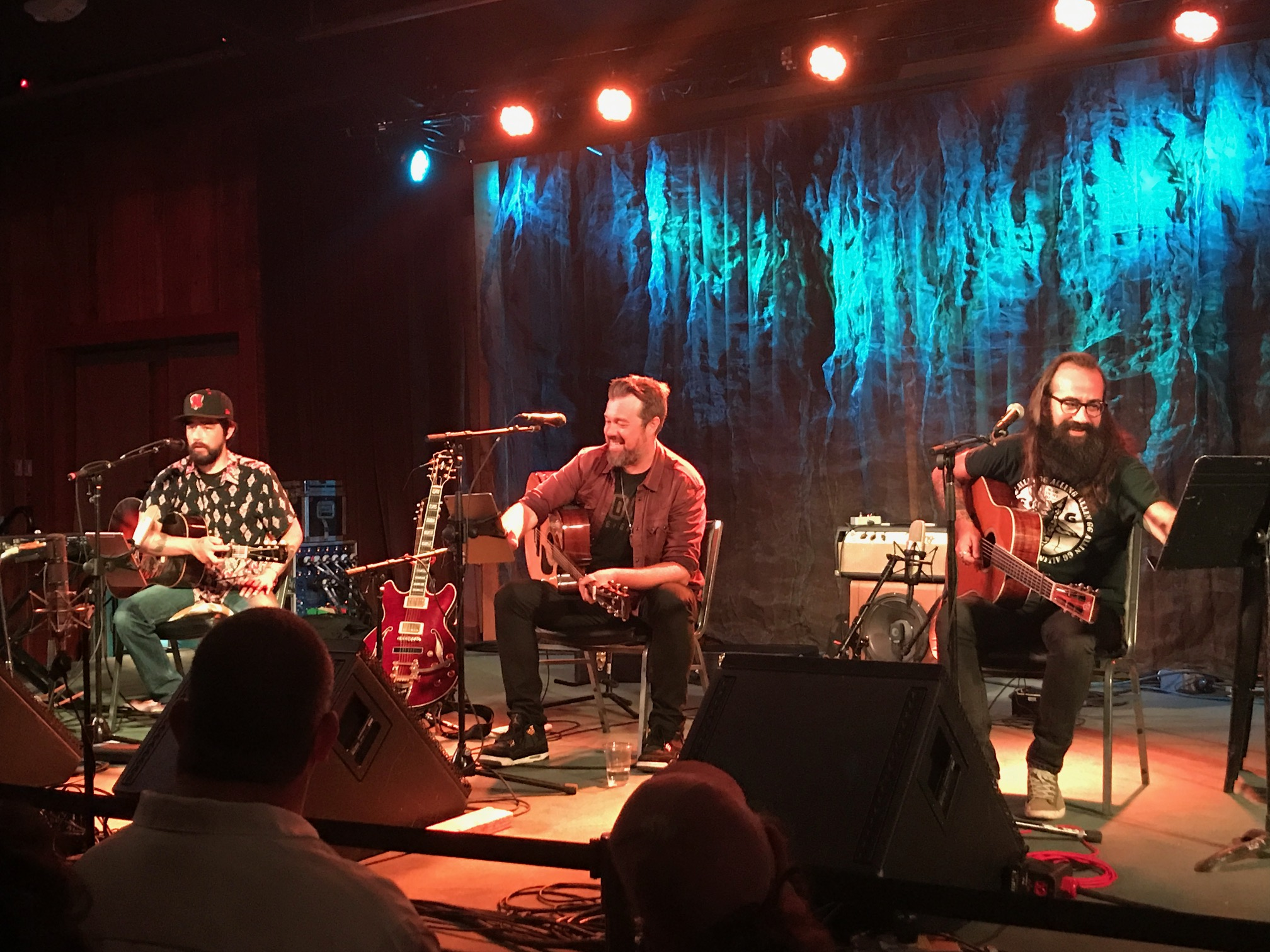 JACKIE GREENE, ERIC KRASNO and ROSS JAMES TREAT CROWD TO INTIMATE EVENING AT TERRAPIN CROSSROADS