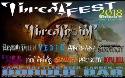 METAL BANDS GATHER FOR THREAT-FEST