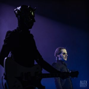 GHOST'S EPIC PERFORMANCE BRINGS HORROR AND HUMOR TO KIRBY CENTER