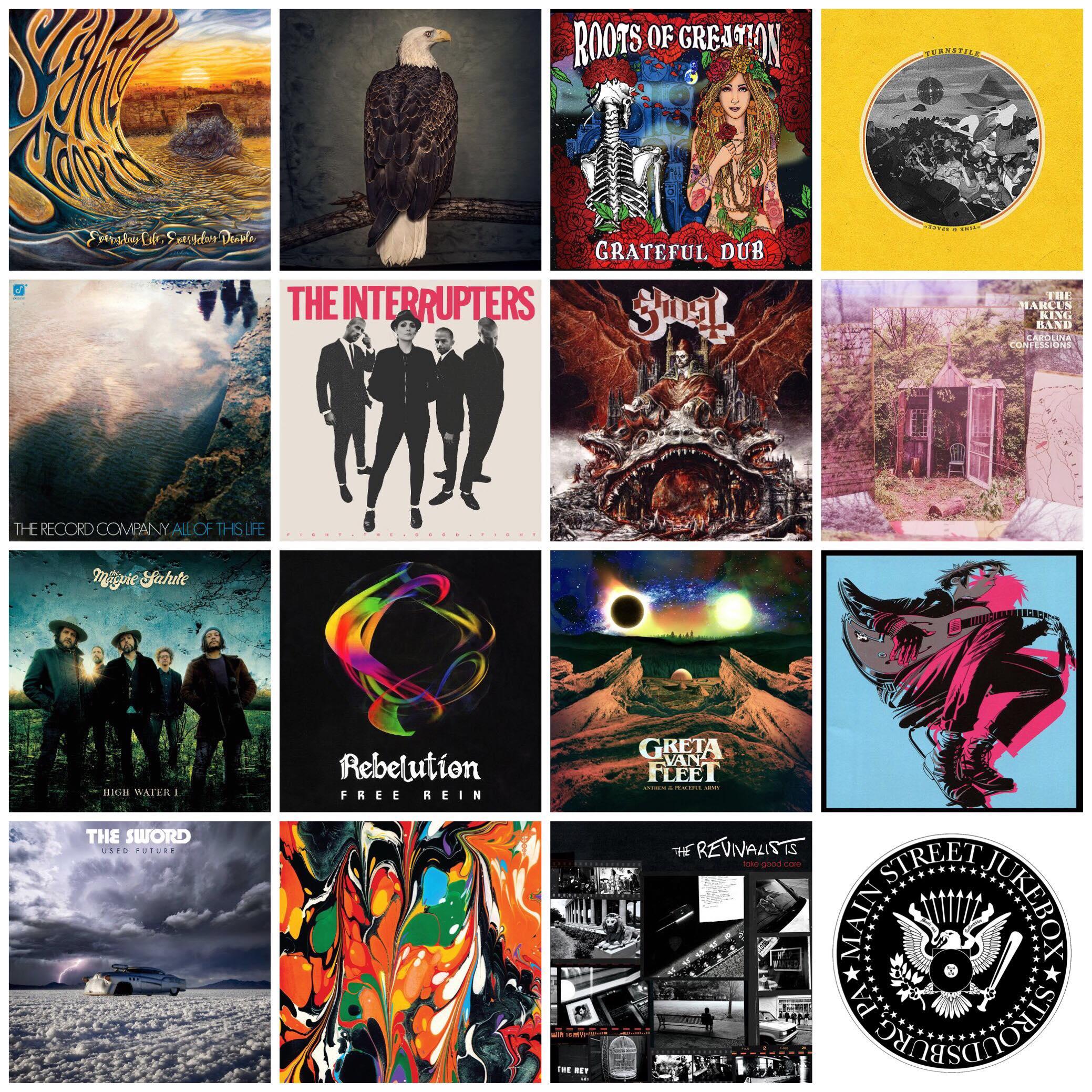 MAIN ST. JUKEBOX'S TOM LEFEVRE'S FAVORITE ALBUMS OF THE YEAR