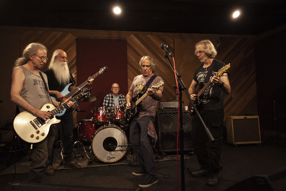IMMEDIATE FAMILY RIFFS ON PLAYING WITH JAMES TAYLOR, KEITH RICHARDS and WARREN ZEVON