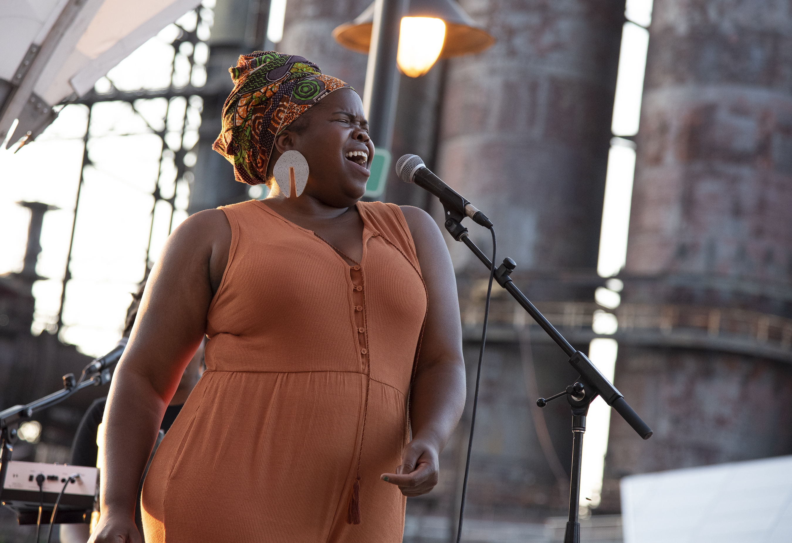 DANIELLE PONDER AT STEELSTACKS
